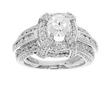 I1/G Huge 2.25 Ct Real Diamond Jewelry 14Kt Gold Solitaire Anniversary Ring Band