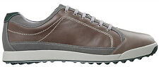 FootJoy Contour Casual Spikeless Golf Shoes 54249 Grey/Green CLOSEOUTS Mens New