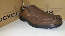 Dockers Melvane Light Weight Espresso Suede Casual Shoes size 7-12
