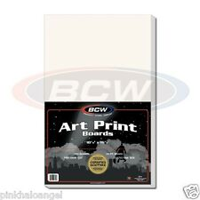 5 New 11 X 17 Art Print - Resealable Photo Bags & Backer Boards -BCW- Acid Free