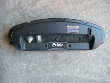 PRIDE LEGEND CLASSIC MOBILITY SCOOTER BACK PANEL WITH ATTACHMENTS.