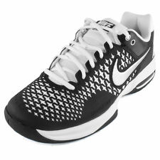 Nike Mens Air Max Cage Tennis Shoes Black/White 554875-005 ****