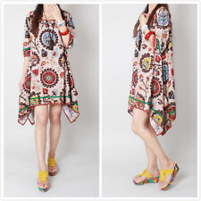 Sexy Women Summer Casual Sleeve Floral Party Evening Cocktail Short Mini Dress