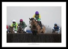 Kauto Star 2011 King George VI Steeplechase Horse Racing Photo Memorabilia (734)