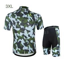 Breathable Cycling Short Sleeve Jersey Pants Sportswear Suit Set S-3XL 6 Sizes