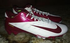 NEW Mens 12 NIKE Vapor Talon Elite TD Low Cardinal Red White TD Football Cleats