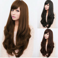 Sexy Women's Long Curly Fancy Dress Wigs Hair Fashion Ladies Full Wig Party Wigs