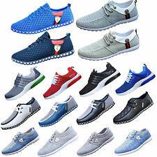 6-Style RUNNING TRAINERS MEN'S WALKING SHOCK ABSORBING SPORTS FASHION BOYS SHOES