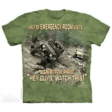 THE MOUNTAIN HOSPITAL OUTDOOR WILD JEEPS ROCKY ROAD VALLEY T TEE SHIRT S-5XL