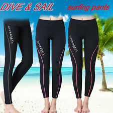 1.5mm Neoprene Surf Scuba Snorkeling Dive Pants Wetsuit Legging Skinny Trousers