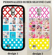 CUTE POLKA DOTS BABY PHOTO CUSTOM PHONE CASE FOR SAMSUNG GALAXY S6 S5 S4 NOTE 5