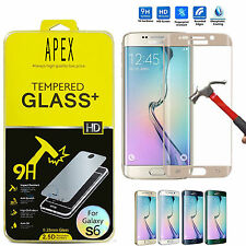 Full Cover Corning Tempered glass Screen Protector for Samsung Galaxy S6 Edge