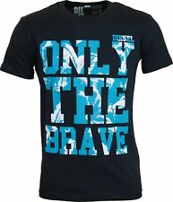 "NEW MENS DIESEL T-SHIRT BURT - ""ONLY THE BRAVE"" Graphic tshirt"