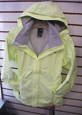 THE NORTH FACE WOMENS RESOLVE WATERPROOF JACKET- #AQBJ- RAVE GREEN- M,L,XL