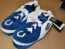 COLTS SNEAKER SLIPPERS - New - FREE U.S.A. SHIPPING - Indianapolis Colts