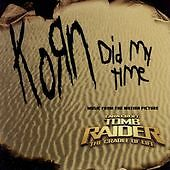 KORN CD Single SEALED Did My Time/One Metallica Cover