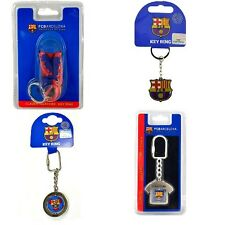 OFFICIAL BARCELONA FOOTBALL CLUB - KEYRINGS (Crest,Spinner,Metal KeyRing) (Gift)