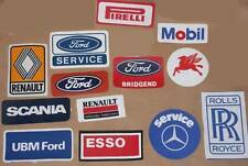 Iron On Patches of Vehicle Related Companies Ford Esso Scania Mobil Mercedes