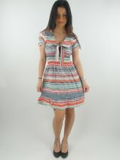 original Yumi Summer Dress Dress YN-132 Alyona red striped new