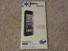 $20.00 NEW SPECK ShieldView GLOSSY Screen Protector Film iPhone 5 5S SPK-A0759