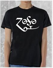 LED ZEPPELIN ZOSO JIMMY PAGE EMBLEM MENS ROCK METAL PUNK ADULT TEE T SHIRT S-2XL
