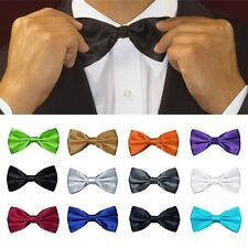 Classic Multi Color Mens Adjustable Tie Tuxedo Bowtie Wedding Bow Tie Necktie
