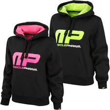 MusclePharm Womens Pullover Hoodie Jumper Hooded Hoody Tracksuit Top