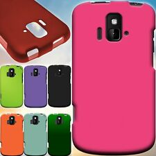 Hard Snap On Rubberized Matte Phone Cover Case For ZTE Radiant / Sonata 4G