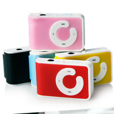 5Colors Mini Clip USB MP3 Music Player Support 1-8GB Micro Memory SD TF Cards