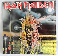 Iron Maiden Self Titled 1980 Record LP Harvest 12094 Paul Di'Anno Steve Harris