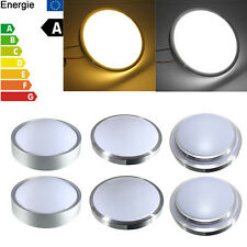 12W 18W LED Flush Mounted Ceiling Down Light Kitchen Bathroom Round Lamp AC 220V