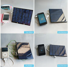 6V 3.5W Solar Panel Stents + USB Solar Battery Charger For phone MP3 MP4 PDA