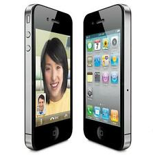 Apple iPhone 4 Verizon 8 GB Black White Cell Phone
