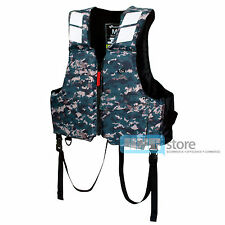 BLUESTORM Buoyancy Aid Adult Life Jacket PFD Boating Fishing Outdoor Camouflage