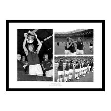 West Ham United 1975 FA Cup Final Photo Montage Memorabilia (MU75)