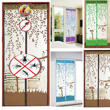 Magnetic Mesh Door Curtain Magic Snap Fly Bug Insect Mosquito Screen Net Guard