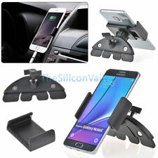 Car CD Dash Slot Mount Holder Dock For Samsung Galaxy Note 8 S8 iPhone X 8 + LG