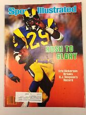 December 17 ,1984-Sports Illustrated Magazine-Eric Dickerson Rams Rushing Record
