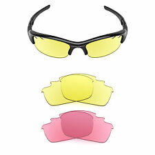 Revant Replacement Lenses for Oakley Flak Jacket Vented — Multiple Options