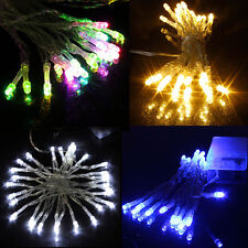 LED FAIRY LIGHTS BATTERY OPERATED CHRISTMAS TREE FESTIVE BIRTHDAY PARTY WEDDING