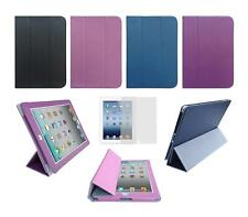 Folio Smart Skin Cover Case and Screen Protector for Apple iPad 3rd / 4th Gen