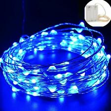 20-100LED Copper Wire LED Strip Light Battery Powered F Party Xmas Wedding