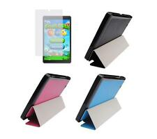 Slim Folio Cover Case + Screen Protector for Nextbook Flexx 8 NXW8QC132 Tablet
