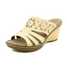 NaturalSoul by Naturalizer History   Open Toe Synthetic  Wedge Sandal NWOB