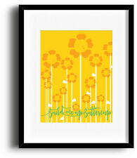 BUILD ME UP BUTTERCUP Foundations Song Lyric Poster Sign (PRINTS CANVAS PLAQUES)