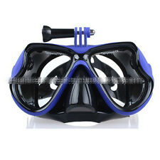 Scuba Diving Snorkeling Mask Goggles Swim Glasses For GoPro Hero4 Session