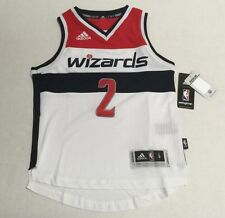 NBA Adidas Washington Wizards Swingman Jersey Youth Kid Size +2 NBA  New