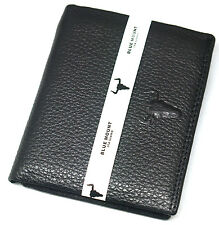 New Men's Leather Wallet ID Photo Holder Credit Card Slot Zippered Pocket Purse
