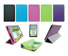 """Folio Skin Cover Case and Screen Protector for Azpen A909 9"""" Tablet"""