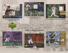 USA Sports Upper Deck Trading Cards Promo Press Sheets: Choose from a selection